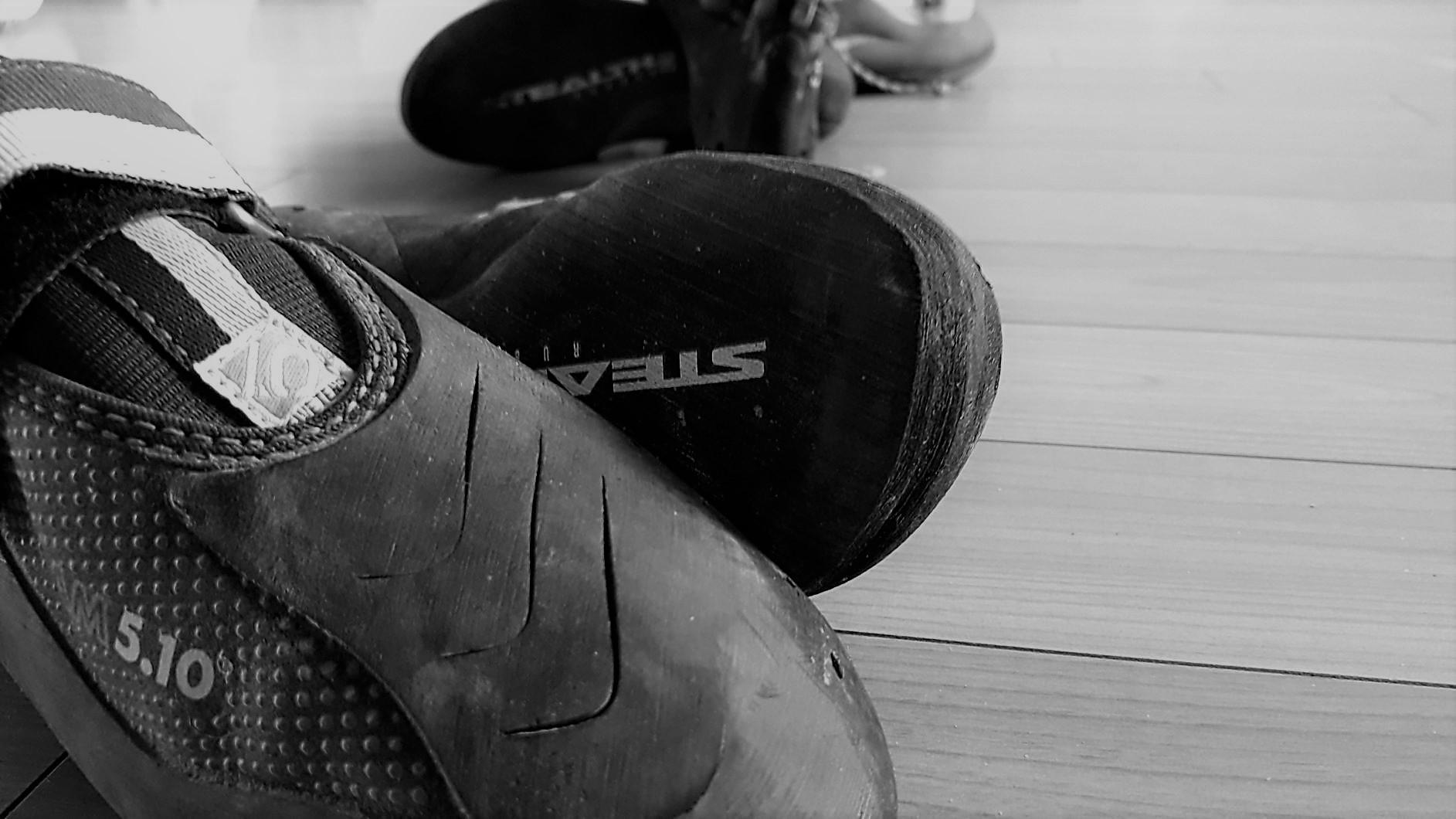 Le scarpette di arrampicata devono fare male?