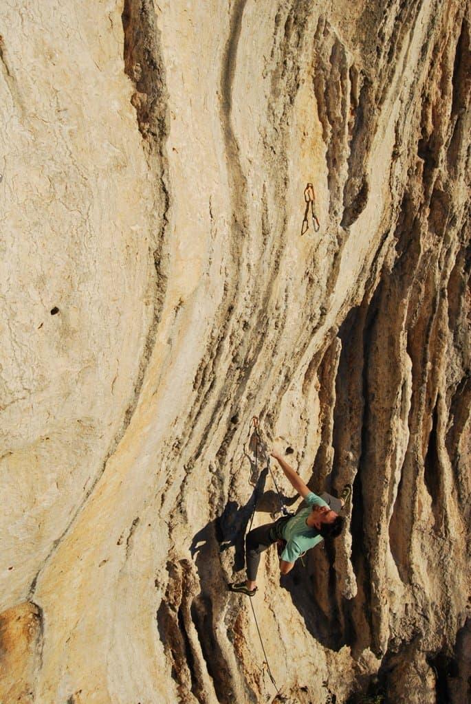 scimmiodromo finale ligure arrampicata sportiva