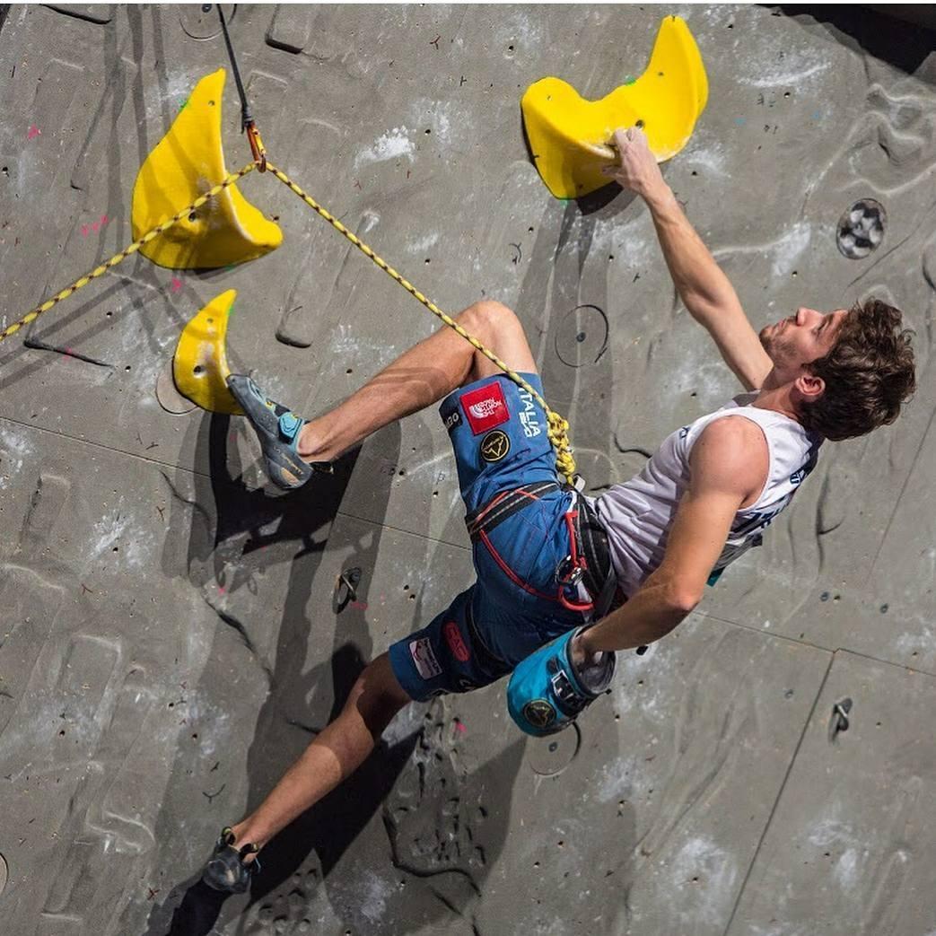 Stefano Ghisolfi è secondo nella Coppa del Mondo Lead - Novelle d'arrampicata
