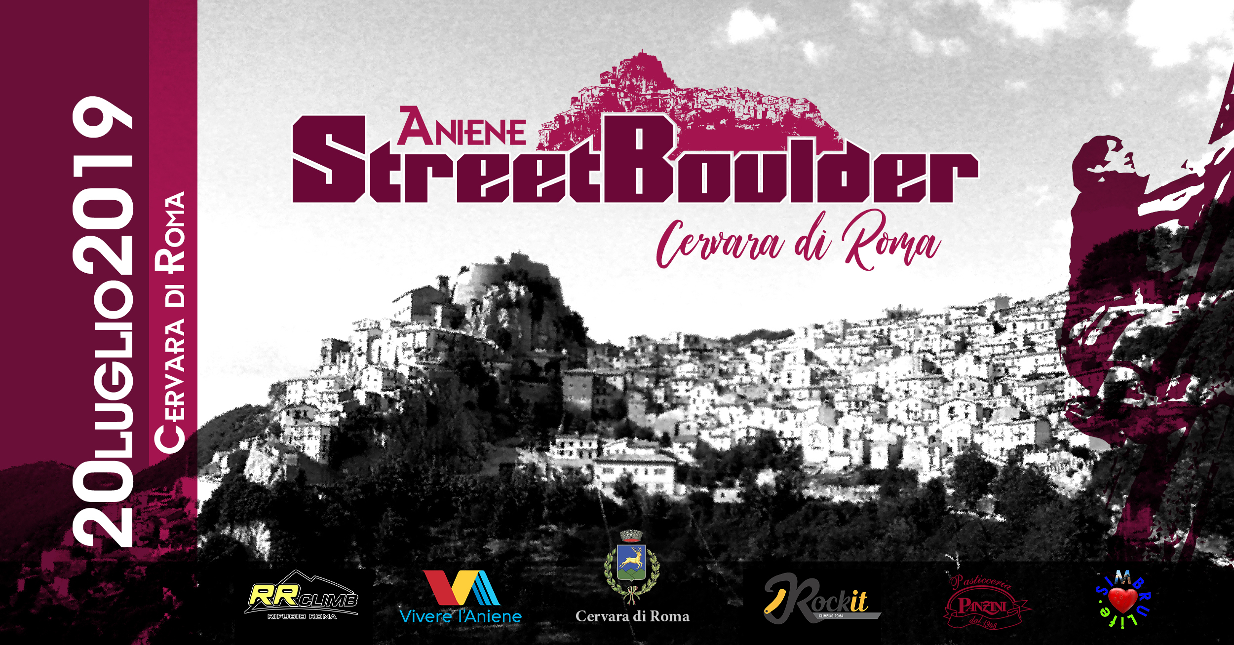 L'Aniene Street Boulder approda nella spettacolare Cervara di Roma