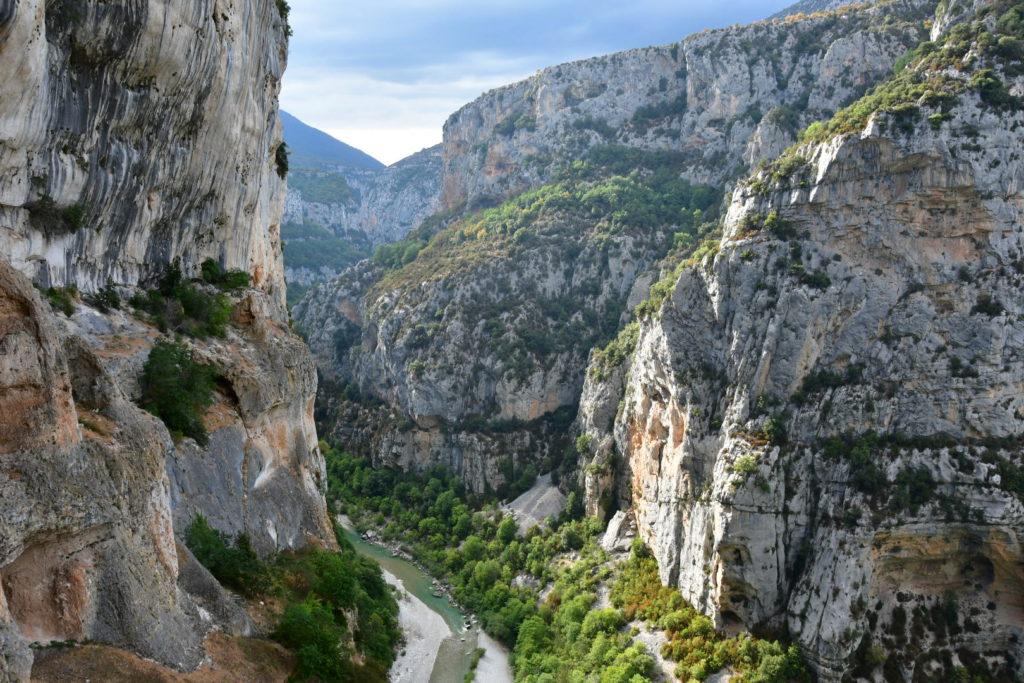 Arrampicare nelle falesie delle Gorges du Verdon