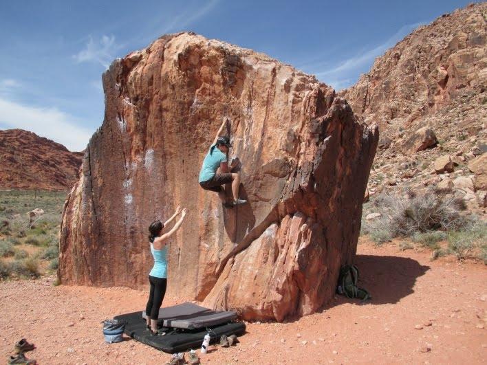 Come pararsi correttamente facendo boulder - Te lo dice Oliunìd